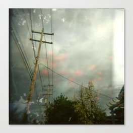 Telephone Lines Canvas Print