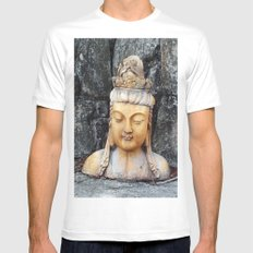 ASIAN GODDESS Mens Fitted Tee White SMALL