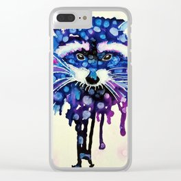 Lil' Mischief Clear iPhone Case