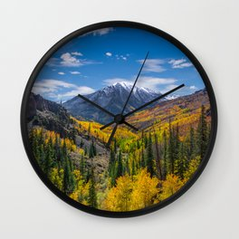 Autumn Views Wall Clock