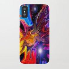 Galactic makeup 2 iPhone X Slim Case