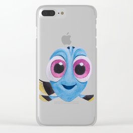 BABY DORY Clear iPhone Case