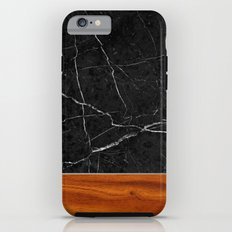Marble and Wood Tough Case iPhone 6s