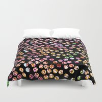 polka Duvet Covers featuring Polka Dots by Take F1ve