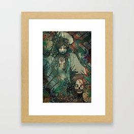 The Sirens den Framed Art Print