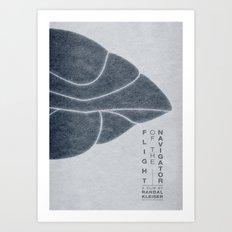 Flight of the Navigator - MINIMALIST POSTER Art Print