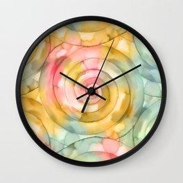 Mooving Spiral Wall Clock