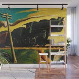 Classical Masterpiece 'Going West' by Thomas Hart Benton Wall Mural