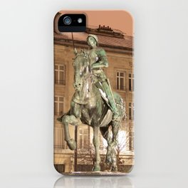 Joan of Arc Frozen in Time iPhone Case