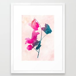 maple 1 watercolor by Jacqueline Maldonado & Garima Dhawan Framed Art Print