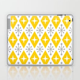 Mid Century Modern Atomic Triangle Pattern 106 Laptop & iPad Skin