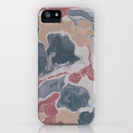 Abstract Liquid Geode iPhone Case