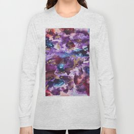 """Spilled Cabernet"" Long Sleeve T-shirt"
