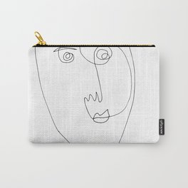Face of wire Carry-All Pouch