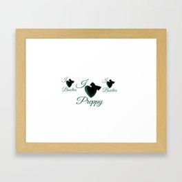 Preppy & Bowties  Framed Art Print