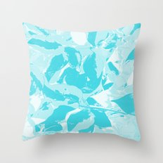 BlueMING Throw Pillow