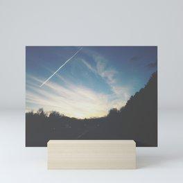 Last Bits of Sunlight Mini Art Print