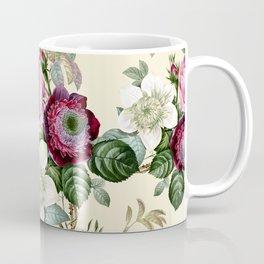 Floral enchant - cream Coffee Mug