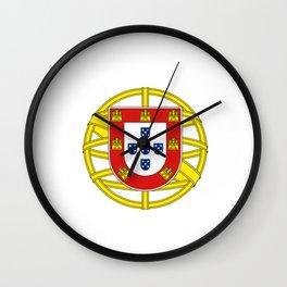Portuguese Flag (Bandeira Portuguesa) Wall Clock