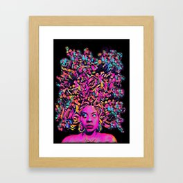 Bed Head Framed Art Print
