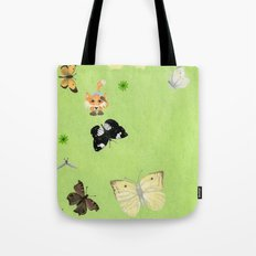 Butterfly watching Tote Bag