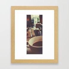 Tea at The Elephant House Framed Art Print