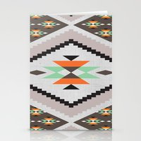 navajo Stationery Cards featuring Navajo by Priscila Peress
