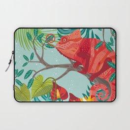 The Red Chameleon  Laptop Sleeve
