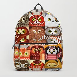 North American Owls Backpack