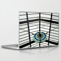 oscar wilde Laptop & iPad Skins featuring Oscar Wilde #4 Thief of Time by bravo la fourmi