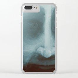 Lewis, close-up portrait Clear iPhone Case