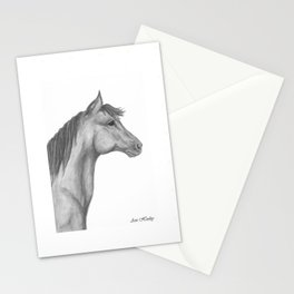 Horse Profile by Ave Hurley Stationery Cards