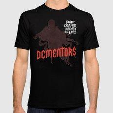 Dementors MEDIUM Black Mens Fitted Tee