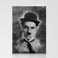 chaplin Stationery Cards featuring Chaplin by Dino cogito
