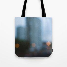 City bokeh Tote Bag