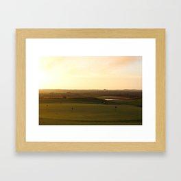 Sankaty Head Golf Club Framed Art Print