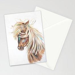 ICELANDIC HORSE // STAY WILD Stationery Cards