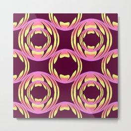 spheres pattern Metal Print