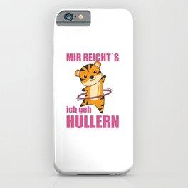 Tiger Predat Cat Hullern Sport Sweet Animals iPhone Case