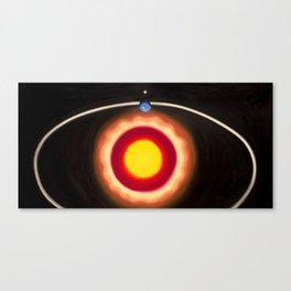 Genesis Series - Day 4 Canvas Print