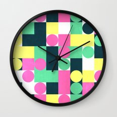 circle square Wall Clock