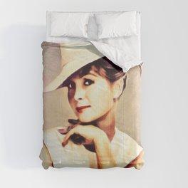 Debbie Reynolds, Vintage Actress Comforters