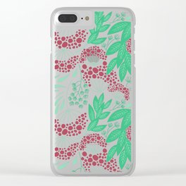 Hydrangea Look-Alike Clear iPhone Case
