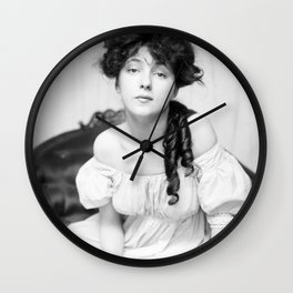 Evelyn Nesbit by Gertrude Kasebier, 1900 Wall Clock