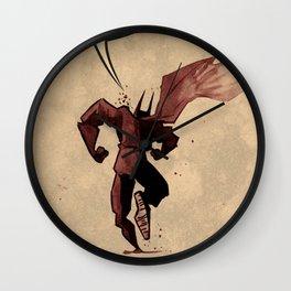 Action hero Wall Clock