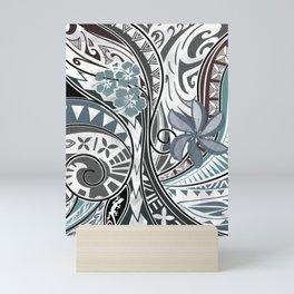 Hawaiian - Samoan - Polynesian Tribal Threads Mini Art Print