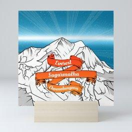 Mount Everest Mini Art Print