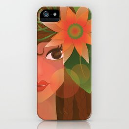 The Forest Girl iPhone Case