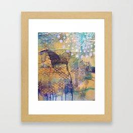 Secret Flight Framed Art Print