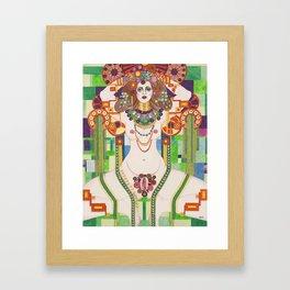 Vagina Monologues Framed Art Print